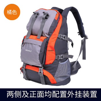 Outdoor 32L Leisure Sports Backpack Male and Female Shoulder Small Capacity Travel Bag Walking Camping Waterproof Backpack