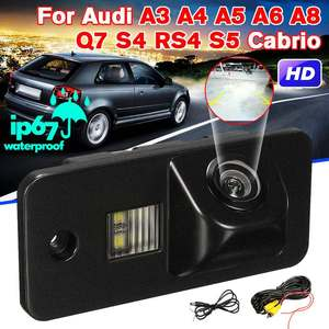 CCD HD Car Rear View Camera Reverse Parking Backup Night Vision for Audi A3 A4 A6 A8 Q5 Q7 A6L RS4S5