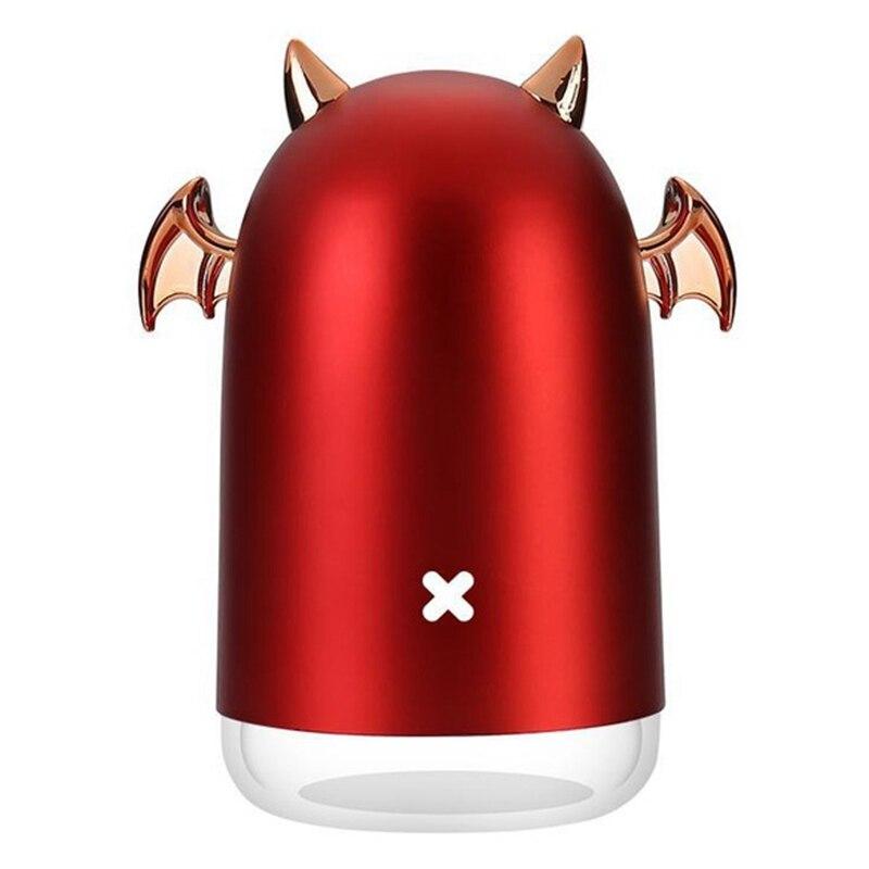 230Ml Ultraschall luftbefeuchter Kleiner Teufel Usb Aroma Ätherisches Öl Diffusor für Home Auto Nebel Maker Farbe Led Lampe rot-in Luftbefeuchter aus Haushaltsgeräte bei title=