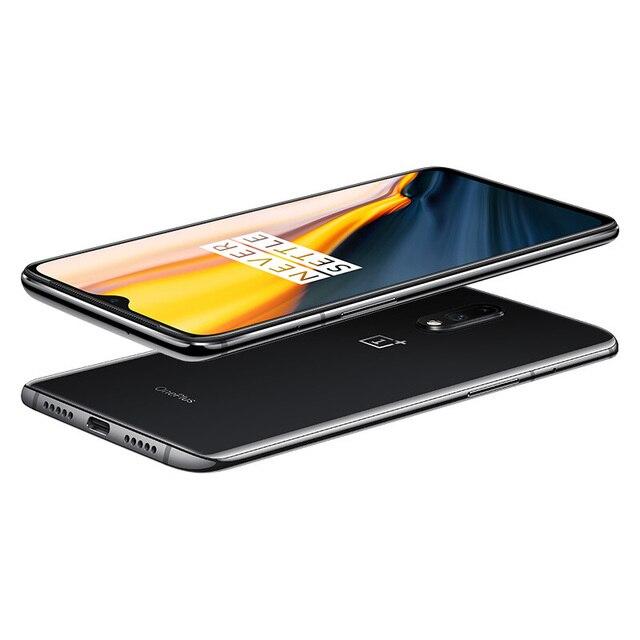 Oneplus 7 MobilePhone Global Rom 6.41Inch AMOLED Display Octa Core Snapdragon 855 in-Screen Fingerprint Unlock 3700mAh NFC phone 5