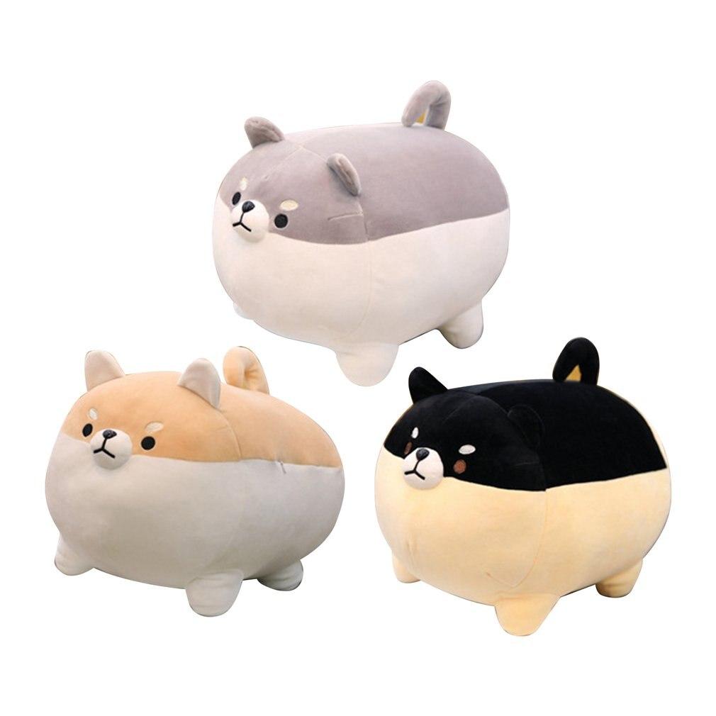 New 40cm Cute Shiba Inu Dog Plush Toy Stuffed Soft Animal Corgi Chai Pillow Christmas Gift For Kids Kawaii Valentine Present