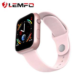 LEMFO inteligentny zegarek mężczyźni sport Tracker kobiety tętno monitor aktywności fizycznej prognoza pogody inteligentny zegarek dla Apple telefon z systemem android tanie i dobre opinie Brak Na nadgarstku Wszystko kompatybilny 128 MB Passometer Fitness tracker Uśpienia tracker Wiadomość przypomnienie