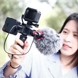 Image 5 - Ультраяркая Светодиодная панель для видеосъемки с холодным башмаком для Gopro Hero 8 7 6 5 Nikon Sony DSLR DJI Osmo набор аксессуаров для экшн камеры