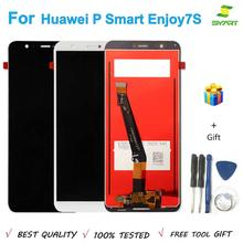AAA Test 5.65 inch LCD For P Smart LCD Screen Display Touch Screen Digitizer Assembly For Huawei Enjoy 7S FIG-LX1 FIG-LA1 LCD claa080lb0ax8 inch lcd screen