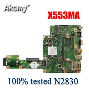 New Amazoon X553MA MAIN_BD._0M/N2830/AS For Asus A553M X503M F503M X553MA X503M X553M F553M F553MA laptop motherboard 100% test(China)