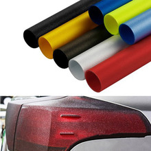 30X150cm Auto Sticker Fog Light Car Flash point HeadLight Taillight Sticker Waterproof Protective Vinyl Film Sheet Car Styling стоимость