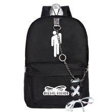 Kpop Billie Eilish рюкзаки женские/мужские школьные сумки для ноутбука дорожная сумка подростковый рюкзак для ноутбука модная нейлоновая сумка Mochila Pusheen