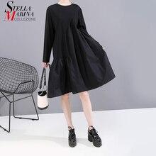 Dress Lurus Panjang Wanita