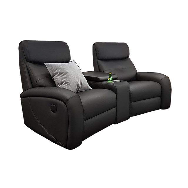 Leather Theater Dual Recliners  1