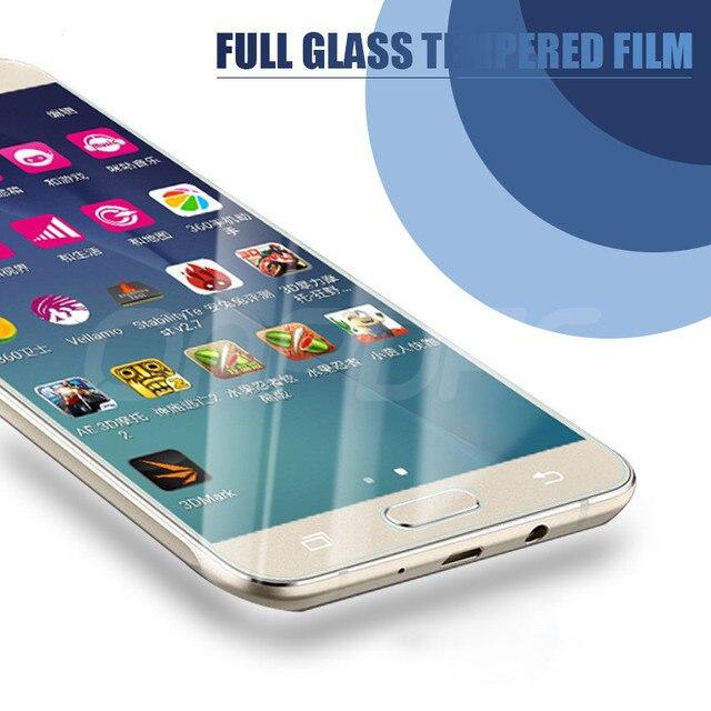 9H Anti-Burst Tempered Glass For Samsung Galaxy J3 J5 J7 A3 A5 A7 2016 2017 J2 J4 J7 Core J5 Preme S7 Screen Protector Glass 3