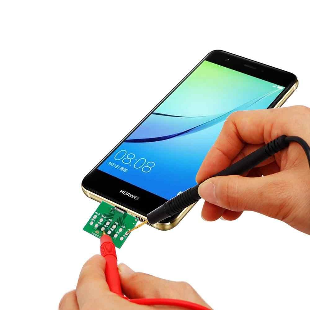 Micro USB DOCK Flex ทดสอบสำหรับ iPhone 11 XS X 6 7 8 6s โทรศัพท์ Android U2 แบตเตอรี่ power แท่นชาร์จ Flex Easy เครื่องมือทดสอบ