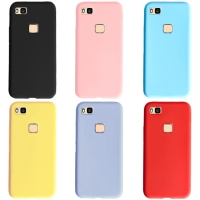 Zachte Gevallen Voor Huawei P9 lite Case Slim Candy Color Silicone Cover Voor Huawei P9 Lite P9lite P 9 lite 2016 Case cover Funda
