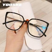 YOOSKE – lunettes yeux de chat Anti-lumière bleue pour femmes, monture TR90, pour ordinateur, verres Bluelight, pour jeu