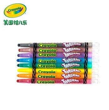 Crayola 25 цветов твист пастели для рисования набор Изысканный Подарочная коробка 04-2705