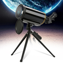 Compact 90/1000 Maksutov-Cassegrain Spotting Scope HD Long Focus Outdoor Bird Moon Watching Monocular Telescope with Tripod