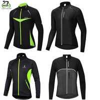 WOSAWE Winter Radfahren Jacke Jaqueta Corta Vento Warme Fahrrad Kleidung Regen Winddicht Wasserdichte Jersey Mantel MTB Bike Jacke Männer