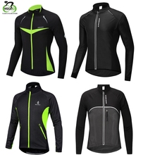 WOSAWE 2017 Winter Cycling Jacket Warm Up Bicycle Clothing Windproof Waterproof Jersey Coat MTB Bike Windbreaker