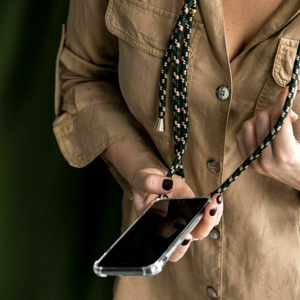 עבור סמסונג גלקסי S8 S10 S9 בתוספת S10 לייט S7 קצה הערה 8 9 10 Crossbody רצועת טלפון מקרה שרוך שרשרת כתף צוואר רצועה