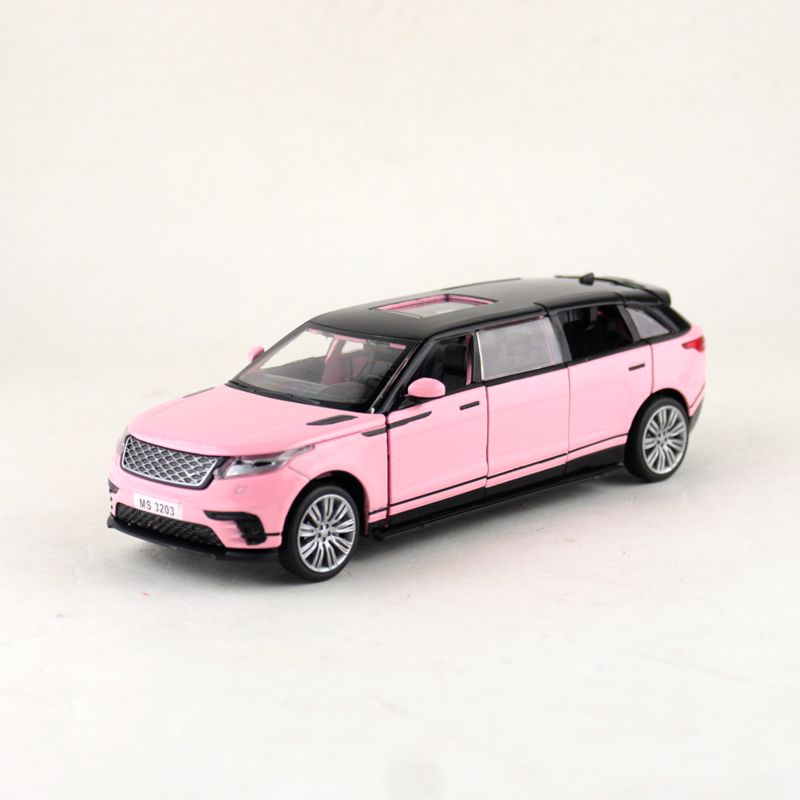 Free Shipping/Diecast Toy Model/1:32 Scale/Velar Dynamic Limousine Car/Pull Back/Sound & Light/Educational Collection/Gift