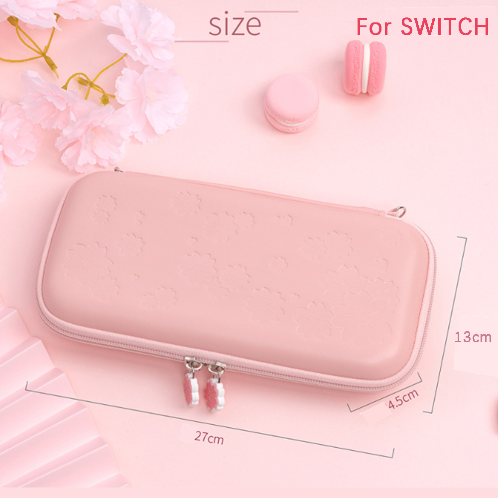 2020 Sakura Portable Storage Bag for Switch Travel Carrying Cherry blossoms Case for Nintendo Switch lite game Accessories