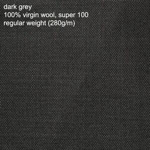Image 5 - 100% Virgin Wool Men Suit Custom Made Suit Luxury Wool Silk Business Suits For Men, Besopke Suit in Wool Costume Homme de luxe