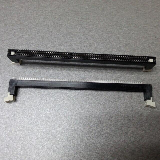 Nuovo Desktop DDR3 Slot Per Schede di Memoria 1.5V Presa 240Pin Nero/Blu Blu/Luce