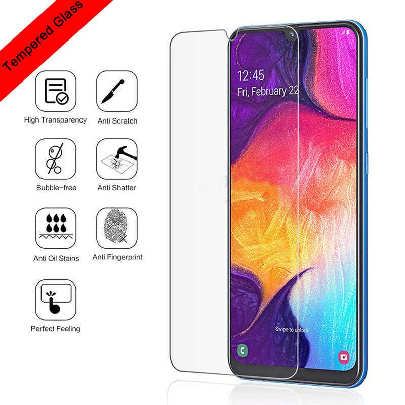 Protector de pantalla de vidrio templado para Samsung Galaxy A50 A70 A40 9H HD película para protección de pantalla de vidrio para Galaxy A30 A20 A10
