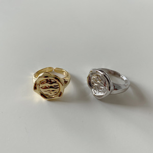 925 пробы Серебряное кольцо Celi во французском стиле в европейском и американском стиле ретро необычное вогнутое выпуклое кольцо с абстрактн...