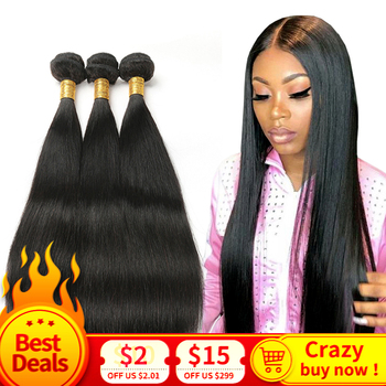 Прямые волосы, 100% натуральные пучки волос, 3/4 пучка индийских волос для наращивания, волосы Remy