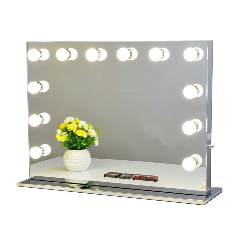 MM001 New Stype All Size Premium Quality Gift Free Hollywood Mirror With Light Bulbs Factory Supply