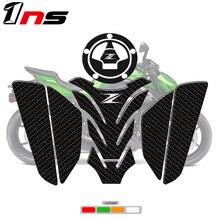 熱販売zロゴオートバイ3Dタンクパッド保護デカールステッカーフィッシュボーンステッカーz750 Z800 z900 Z1000