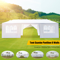 79x30FT Draagbare Upgrade Tuinhuisje Luifel Party Bruiloft Waterdichte Tent Tuin Patio Gazebo Pavilion Cater Evenementen 8 Muren
