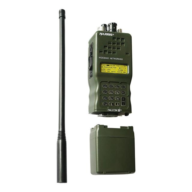 טקטי AN/PRC 152 ועדות ההתנגדות העממית 152 האריס Dummy רדיו קייס, צבאי טוקי ווקי דגם לbaofeng רדיו, אין פונקצית