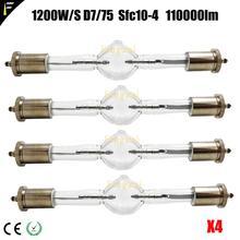 4pcs/lot HTI 1200/S W/D7/60 Short Arc HMI1200 / S HTI 1200 / 60 Computer Moving Head Light Bulb Lamp hmi 1200 S Free Ship