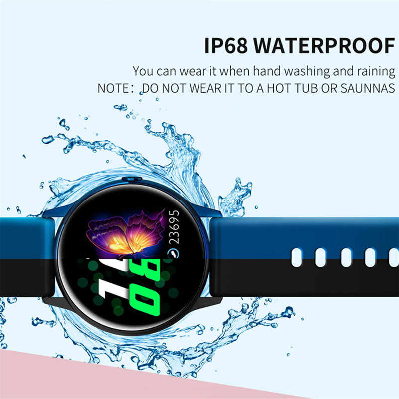 Dt88 Smartwatch Ip68 Waterproof Wearable Device Heart Rate Monitor Sports Smart Watch For Android Ios Long Standby Smart Watches Aliexpress