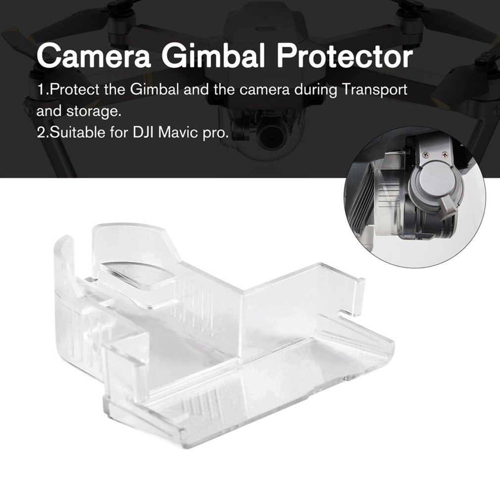 Holder Clamp Lock Buckle PTZ Camera Lens Gimbal Cover Cap Protector For DJI Mavic Pro Drone Spare Parts Accessories Compone