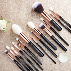 Image 5 - Jessup Beauty 15pcs Cosmetics Makeup Brushes Set Dropshipping pinceaux maquillage Foundation Eyeshadow Blending Brushes T162