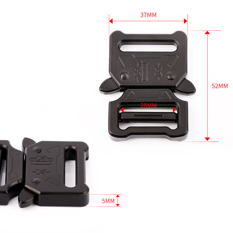 28 mm new belts agio alloy insert buckle bags small pet buckles can be customized logo
