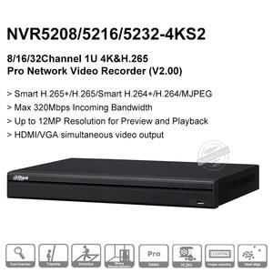 Image 3 - Vận Chuyển Nhanh Dahua NVR5208 4KS2 NVR5216 4KS2 NVR5232 4KS2 16/32CH 1U 4K & H.265 Pro Mạng Ghi 12MP Full HD 2SATA