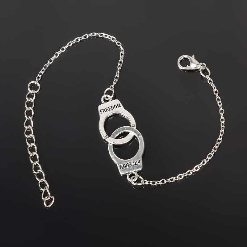 Brazalete de plata para tobillo, pulsera de tobillo para mujer y niña, joyería de pie de boda de playa para fiesta femenina