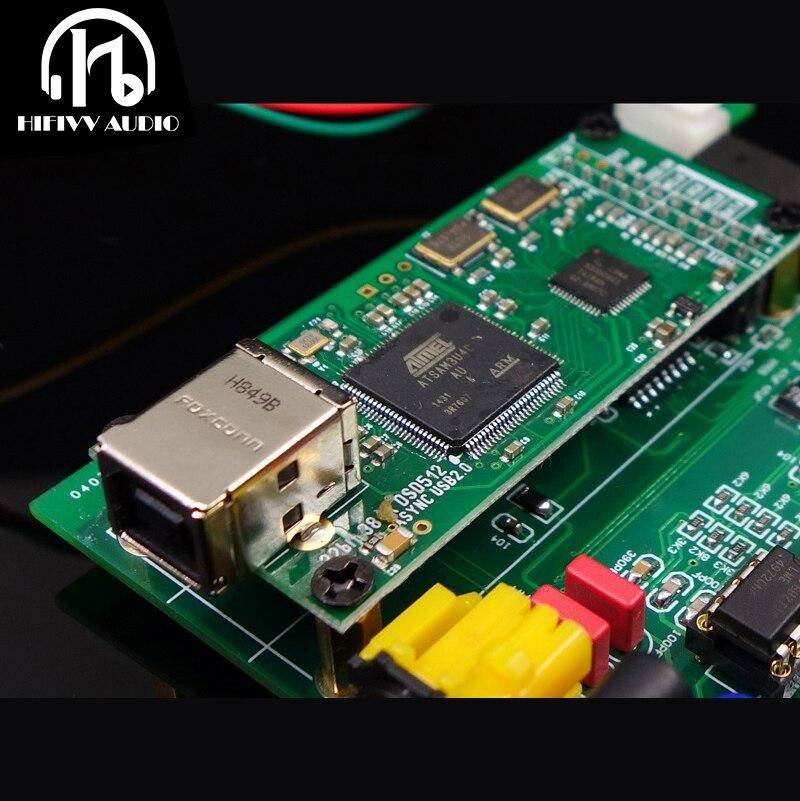 DIY HiFi Amplifier Decoder Card Of Amanero Combo384 USB To IIS Digital Interface Support DSD 32Bit / 384K
