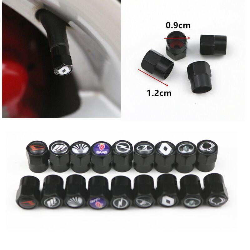 3D Автомобильные клапаны для колесных шин, покрышки, воздушные колпачки, чехол для Ford Mitsubishi Dacia Toyota hyundai Mazda Bmw Audi Seat Opel, автостайлинг