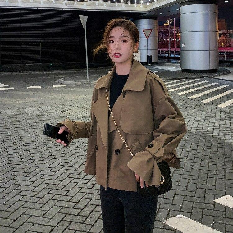 Élégant Smart polyvalent décontracté 2019 printemps nouveau Style Cool côté fente veste recadrée