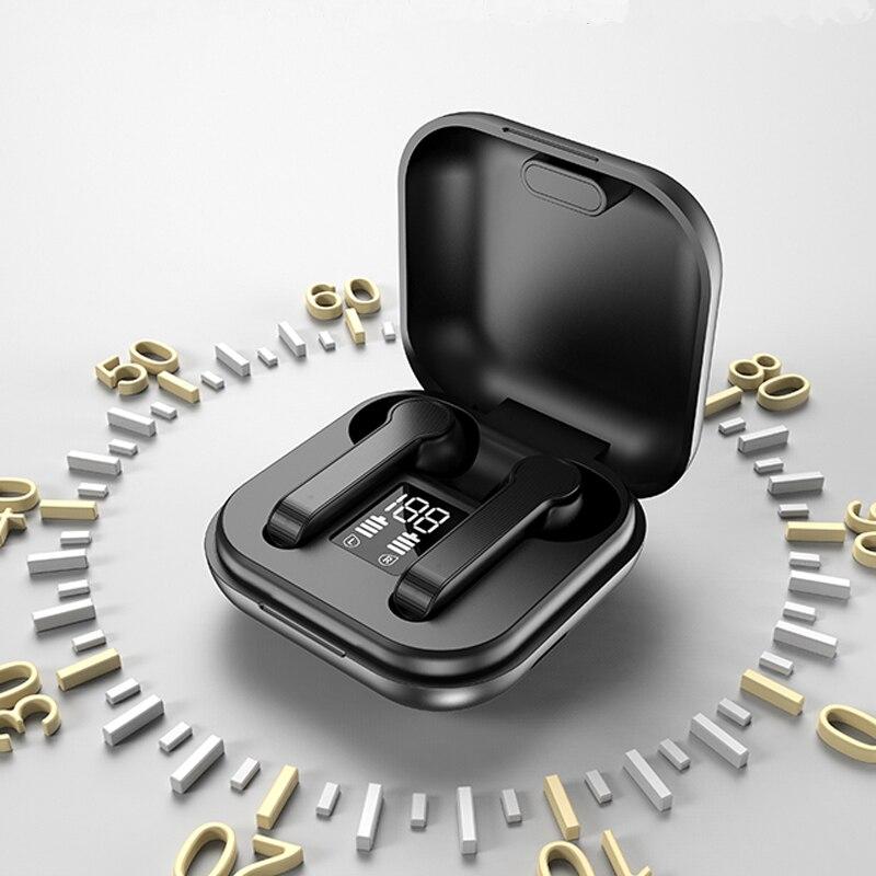 Беспроводные наушники TWS, сенсорные Bluetooth наушники, Hi-Fi звуковая гарнитура, водонепроницаемая с микрофоном для телефонов IOS, Android