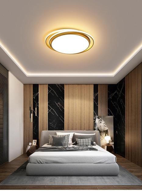 Современный потолочный светильник для спальни теплый и романтичный