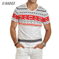 E-BAIHUI marke mens t shirts mode druck Kleidung Swag Männer T-shirts Camiseta tops tees Skate Moleton mann t shirt Y026