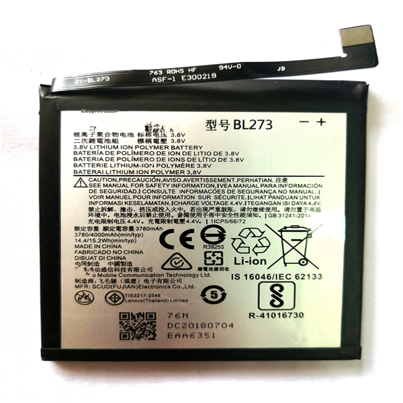 4000mAh High Quality BL273 <font><b>Battery</b></font> For <font><b>Lenovo</b></font> <font><b>K6</b></font> <font><b>Note</b></font> Rechargeable Mobile Phone <font><b>Battery</b></font> with repair tools for gift image