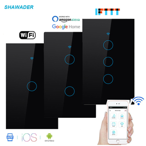 Wifi Smart Light Switch Glass