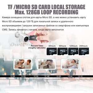 Image 5 - OwlCat HD 1080P 2mp Bullet IP Camera Wireless GSM 3G 4G SIM Card Camera Audio Talk MiFi Outdoor Waterproof iPhone Android View