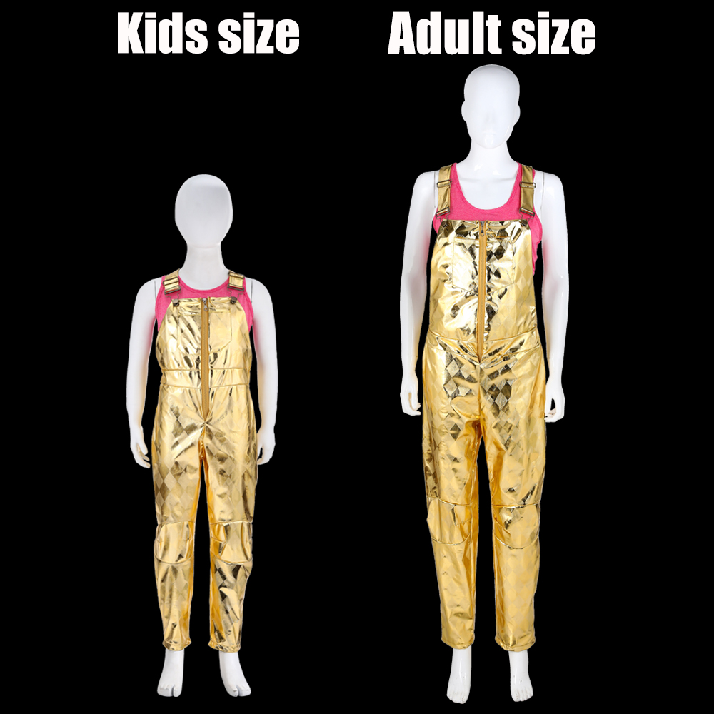 Suicide Squad Harley Quinn Cosplay Full Body Adult Kids Unisex Costume Jumpsuit
